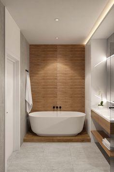 Spa Bathroom Design, Bathroom Renos, Bathroom Layout, Bathroom Renovations, Small Bathroom, Wooden Tile Bathroom, Condo Remodel, Bathroom Design Inspiration, Upstairs Bathrooms