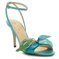Kate Spade's Cecelia Too - more frilly florals for your feet.  Art for your feet