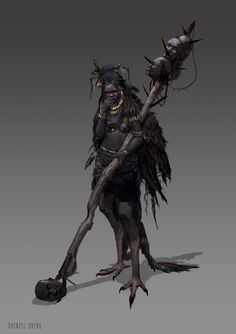 ArtStation - Robotpencil Character Design Class - Vulture, Dhenzel Obeng