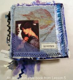 Art Quilt Fabric Book