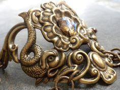 Pisces Jewelry Bracelet Koi Fish by Serrelynda on Etsy, $48.00 #bracelet #Pisces #koi #jewellery
