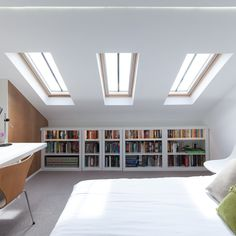 Blackheath House Loft Conversion by APE Architecture and Design. Photography by Peter Landers
