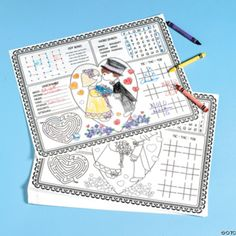 Ideas for Keeping Kids Entertained at Your Wedding Reception - coloring table!!