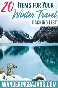 Your flights are booked but your bags are empty! How do you prepare for a winter vacation? What do you need to pack? Check out a basic carry on only guide on what to pack for your next winter trip! Winter Travel Packing, Packing Tips For Vacation, Packing Hacks, Packing Lists, Holiday Travel, Travel Advice, Travel Hacks, Travel Guides, Travel Gadgets