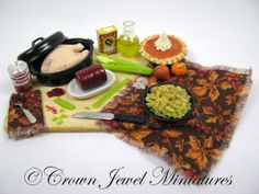 Thanksgiving stuffing (dressing) preparation board - SOLD