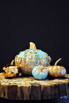 Chloe's Anna Dello Russo fashion pumpkins for Refinery 29