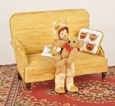 Make a teddybear onsie - Dolls House Magazine - Crafts Institute