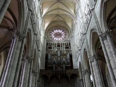 The Cathedral Of Our Lady in Amiens, Notre Dame, France Church Architecture, Amazing Architecture, Beautiful Buildings, Beautiful Places, Cool Photos, Amazing Photos, Cathedral Church, Place Of Worship, Future Travel