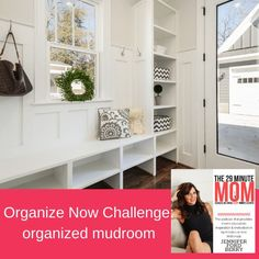 Leaving the kitchen, we are moving on to the mudroom of your house, otherwise called the entryway. This is a high-traffic area where everyone comes in and out every single day. It is also the place where clutter tends to pile up. Make this part of your home the prime real estate asset it should be by clearing out unnecessary things and creating space for what is really needed. Entryway Organization, Organized Mom, Create Space, Mudroom, Challenges, Storage, Clutter, House, Real Estate