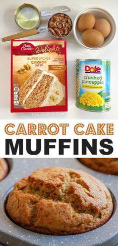Cake Mix Desserts, Cake Mix Recipes, Easy Desserts, Delicious Desserts, Dessert Recipes, Yummy Food, Cake Mixes, Box Cake Mix, Snack Recipes