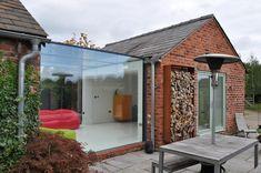 Sevenoakes glass box extension