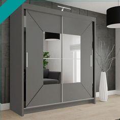 120:- Width: 120 cm, Height: 216 cm, Depth: 62 cm 150:- Width: 150 cm, Height: 216 cm, Depth: 62 cm 180:- Width: 180 cm, Height: 216 cm, Depth: 62 cm 203:- Width: 203 cm, Height: 216 cm, Depth: 62 cm Sliding Mirror Wardrobe, Mirrored Wardrobe, Sliding Doors, Wardrobe Sale, White Wardrobe, Wardrobe Dimensions, Hanging Rail, White Strips, Swinging Chair