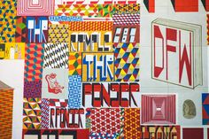 Barry McGee mural | Colossal Media