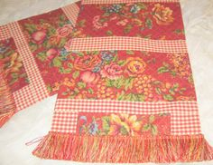 Waverly Table Runner French Country Saison de by BuffaloDesigns, $50.00