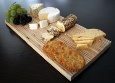 MK Design cheese board with some lovely cheeses.