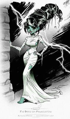 barefootmarley: the bride of frankensteinalfonso pardo martinez
