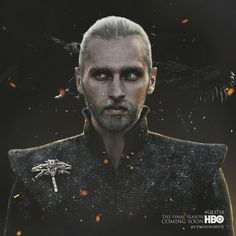 Valyrian dragonlord, House Targaryen. Inspired by A Song of Ice and Fire and Game of Thrones