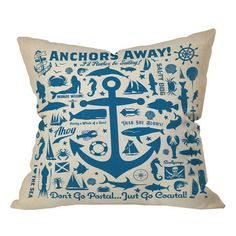 I pinned this Anderson Design Group Anchors Away Pillow from the DENY Designs event at Joss and Main!