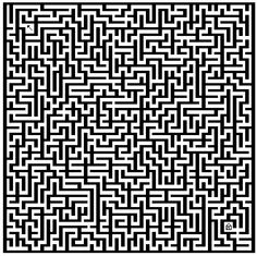 Labyrinth coloring pages 1003 / More labyrinth pages / Kids . Mandala Coloring, Colouring Pages, Adult Coloring Pages, Minecraft Blueprints, Minecraft Designs, Labyrinth Maze, Maze Design, Word Puzzles, Sketch Painting