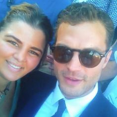 More Fan Pictures of #JamieDornan and the lucky fans ☺️ #Priceless   All Pix Credits to their owners