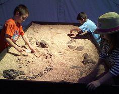 Create your own dinosaur dig