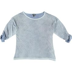 T-shirt Kenny S. tinta a freddo con maniche lunghe e coulisse - € 39,95 | Scopri la nuova collezione A/I 2014-2015 Nico.it