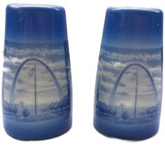 Missouri Salt and Pepper Shakers Souvenir by EclecticVintager