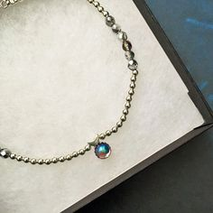 Sterling Silver Blue Moon Beaded Anklet Body Jewellery by houseofrecshop on Etsy https://www.etsy.com/uk/listing/252382972/sterling-silver-blue-moon-beaded-anklet