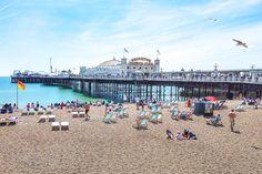 Visit Brighton, Brighton Rock, Brighton England, Abandoned Castles, Abandoned Mansions, Abandoned Places, Royal Pavilion, British Seaside, Abandoned Amusement Parks