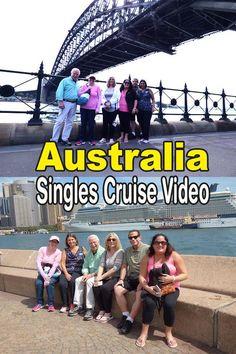 Memory video of  Best Single Travel's Australia singles cruise vacation 2017