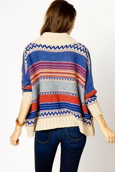 #design tribal cardigan...