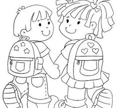 weer naar school Under Wear underwear School Coloring Pages, Colouring Pages, Coloring Sheets, Coloring Books, Go To High School, First Day Of School, Free Coloring, Coloring Pages For Kids, School Colors
