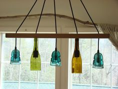 Hey, I found this really awesome Etsy listing at https://www.etsy.com/listing/160141034/insulator-wine-bottle-light
