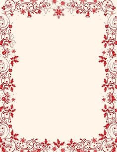 Candy cane holly letterhead christmas stationery x mas for Free christmas stationery templates
