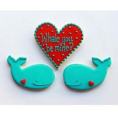Whale You Be Mine Valentine Gift Box