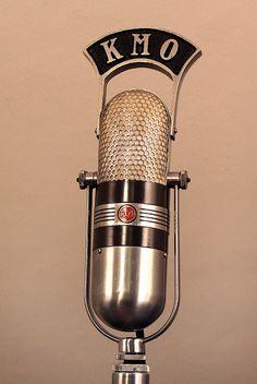 vintage radio RCA 77DX studio microphone by jschneid, via Flickr