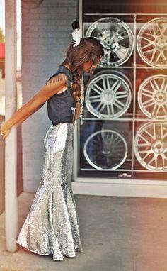 ╰☆╮Boho chic bohemian boho style hippy hippie chic bohème vibe gypsy fashion indie folk the . Skirt Outfits, Cute Outfits, Boho Chic, Hippie Chic, Boutique Fashion, Glamour, Look Fashion, Gypsy Fashion, Passion For Fashion