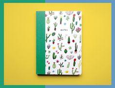 Cactus Lover Notebook | Nina Cosford | www.jollyfish.be