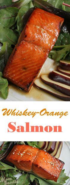 Whiskey Orange Salmon Recipe