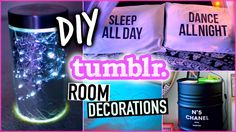 DIY room decorations! easy & cheap! tumblr inspired!