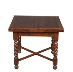 I own one of these, it's gorgeous! Antique English Oak Draw Leaf Pub Table - English Classics