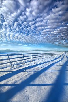 Always Whiter On The Other Side Of The Fence (Wisconsin) by Phil Koch | Flickr