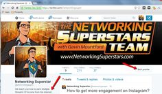Build a Strong Twitter Profile http://networkingsuperstars.com/build-a-strong-twitter-profile/?uid=20