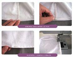 sabanas moises DIY 3 Cómo hacer un juego de sábanas para moisés o cochecito Baby Fabric, Patch, Hair Bows, White Shorts, Baby Shower, Diy, Quilts, Sewing, Baby Bedding