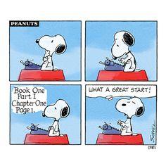 ideas sueltas: Me suele pasar.... Snoopy el escritor y yo compartimos los mismos sentimientos al escribir