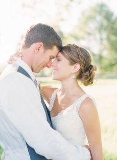 Christa & Brendan – Vermont farm wedding