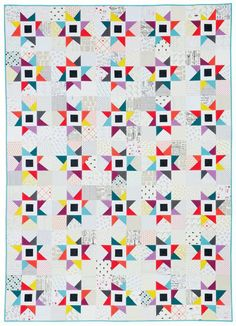 Adrianne's Blaze quilt from Classic Modern Quilts