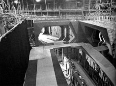 Star Destroyer set from ESB under construction