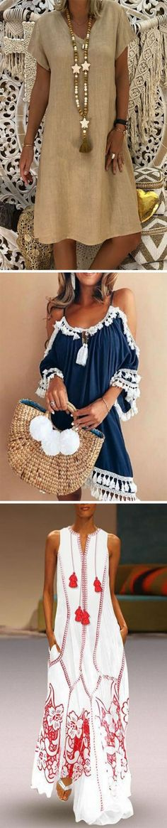 54 Ideas Fashion Style Outfits Woman Spring Summer For 2019 Vintage Dresses, Vintage Outfits, Vintage Fashion, Robes Vintage, Vintage Style, Fashion Mode, Trendy Fashion, Trendy Dresses, Fashion Dresses