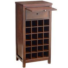 Dartmont Open Wine Cabinet - Mahogany - Pier1 US